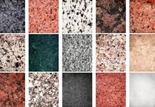 Gránit sírkő mintázat
